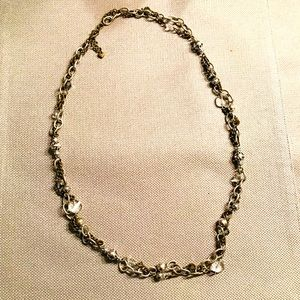 Brighton Gold and silver long chain necklace